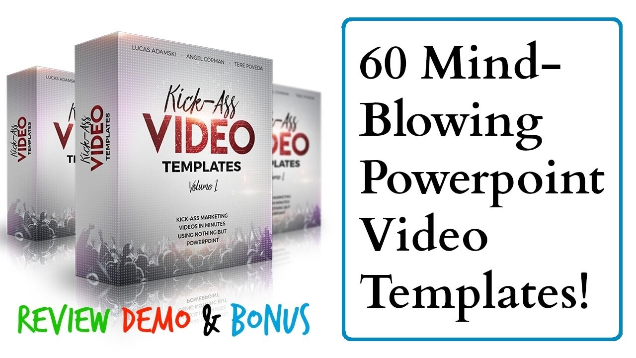 kick ass video templates review demo bonus - 60 mind blowing, Modern powerpoint