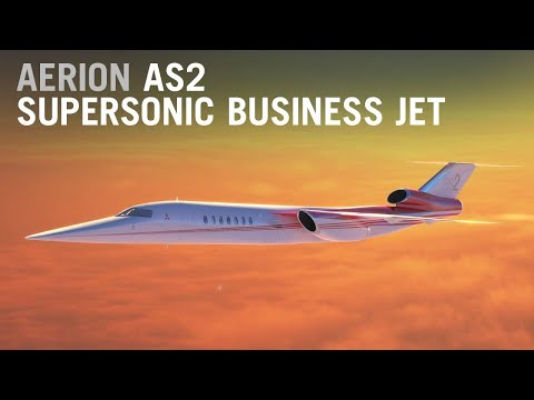 Aerion Expects to Fly the First Supersonic Business Jet by 2