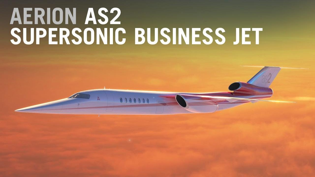 Aerion Expects to Fly the First Supersonic Business Jet by 2023 – AINtv