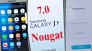 exclusive 100 working how to update galaxy j7 like note 7 and s8 android 7 nougat ᴴᴰ