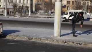 П'яний на привокзальній площі в Читі. Це невід'ємною частиною Забайкальського краю.