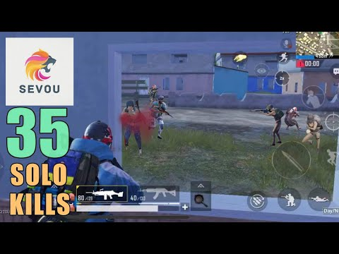 2 SQUADS TEAMED UP AGAINST ME   35 SOLO KILLS   SOLO SQUAD   PUBG Mobile