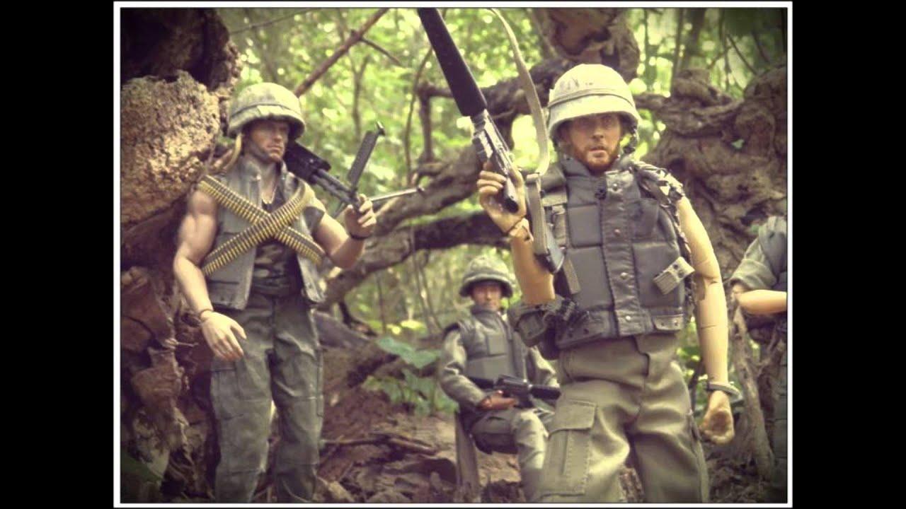 16 action figures vietnamjungle patrol youtube