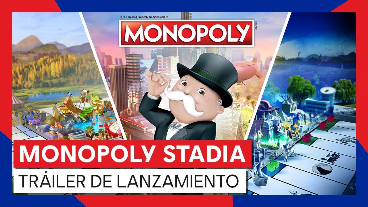 MONOPOLY STADIA - TRÁILER DE LANZAMIENTO - YouTube