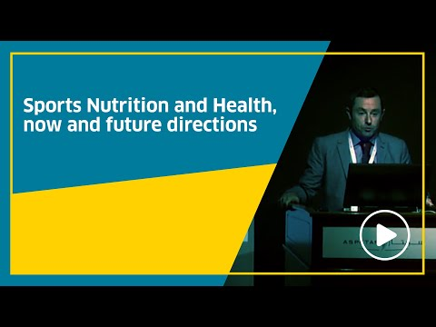 Sports Nutrition and Health, now and future directions