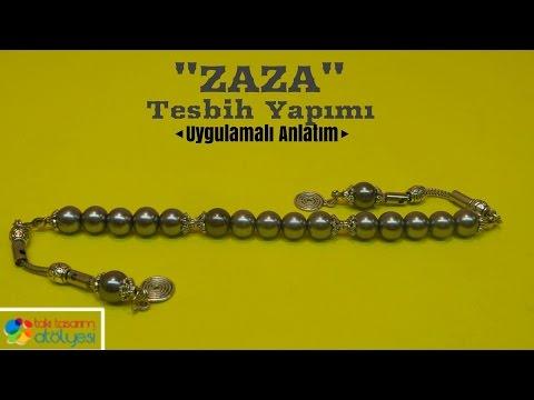 Tesbih Yapımı ve Dizimi (ZAZA) - Takı Tasarım Atölyesi