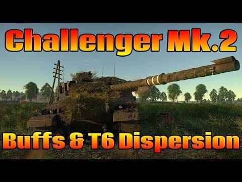 War Thunder: Challenger Mk.2 buffs & Accuracy Changes