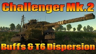 War Thunder: Challenger Mk.2 buffs & Accuracy Changes