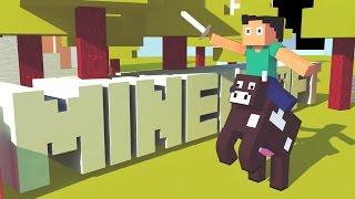 MINECRAFT STORY | ÉPISODE 1 | Minecraft Animation 3D | DM Pixel
