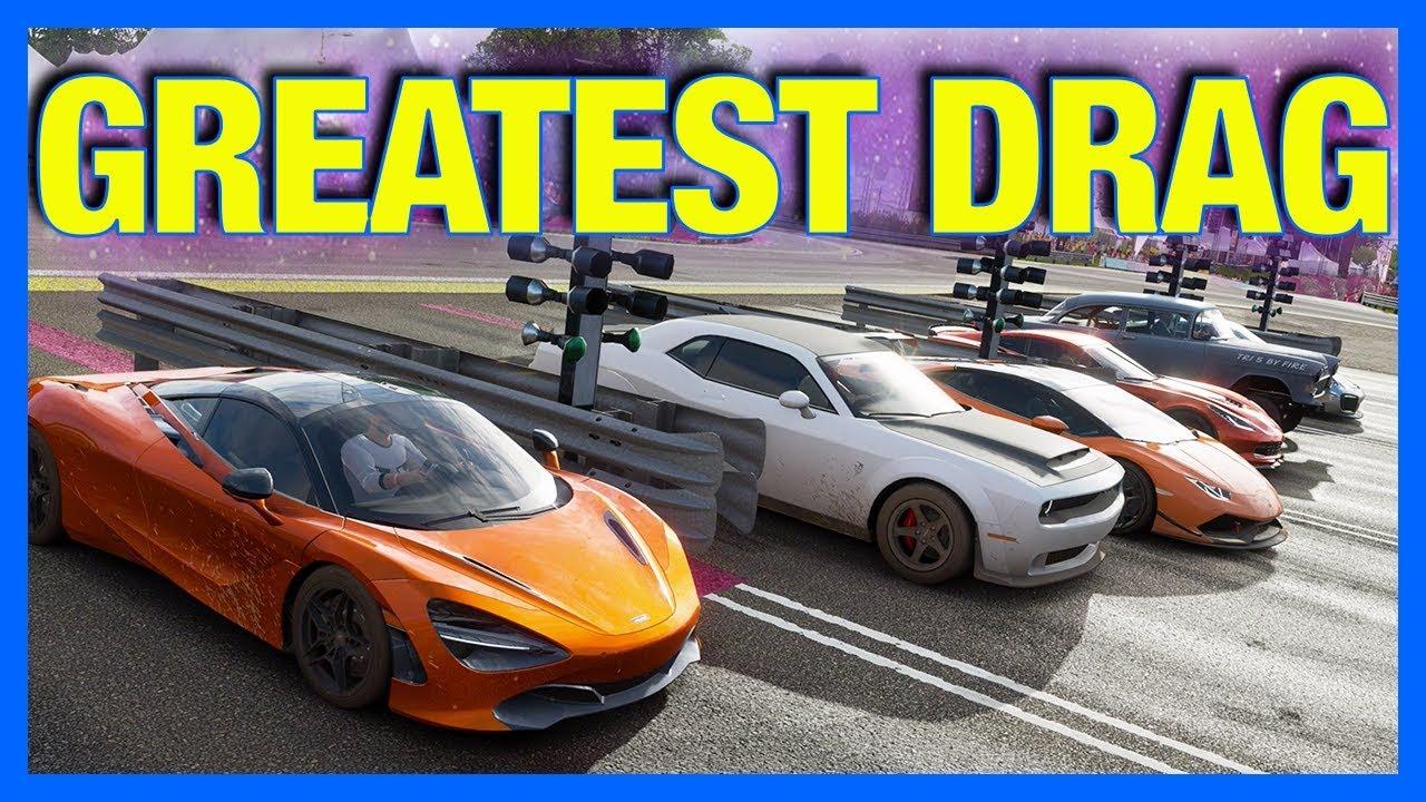 Forza Horizon 4 Online : World's Greatest Drag Race!!