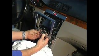 Radio Passat  / Cambio de radio Passat / How to remove  unit radio Passat