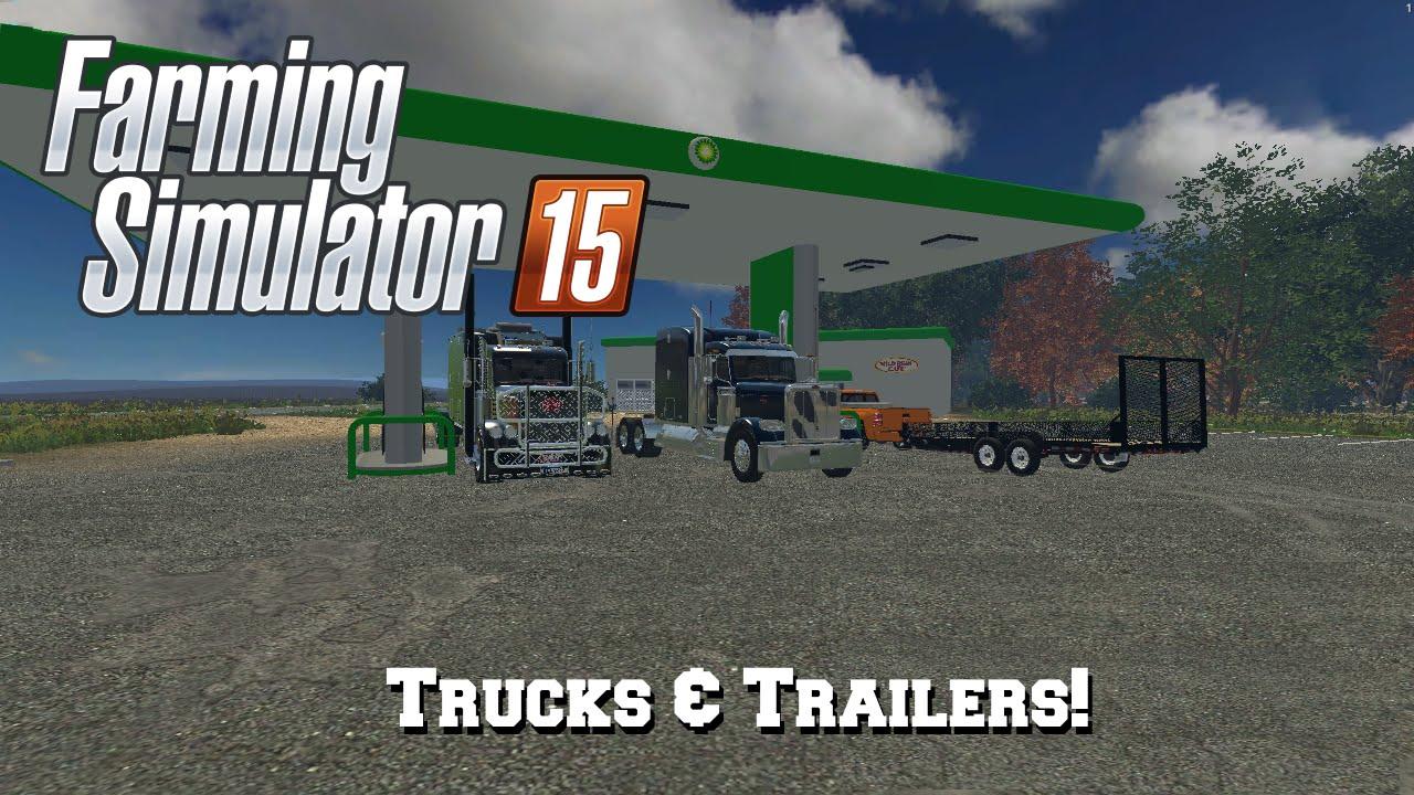 Farming Simulator 2015: Mod Spotlight #58: Trucks & Trailers!