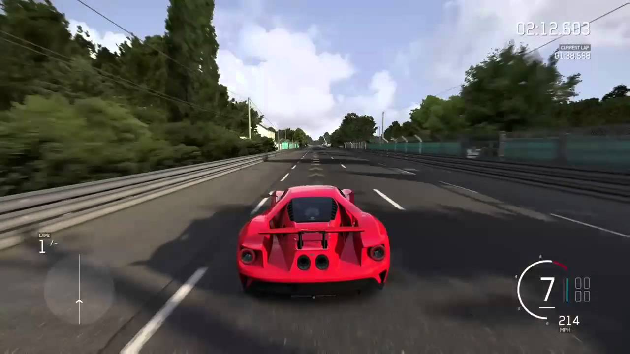 Forza   Ford Gt Top Speed Run
