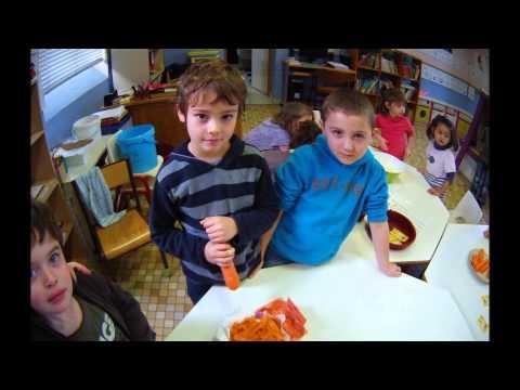 Préparation d'un gâteau à la carotte  Deloitte  4L Trophy  Juliette & Anaïs