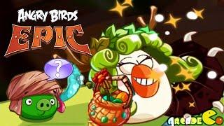 Angry Birds Epic: Monday Bonus Level Dungeon: Porktuga NO HELPING