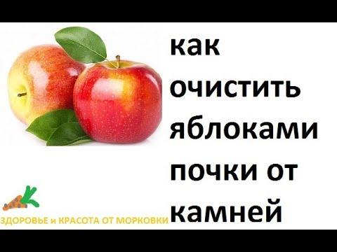 очищение почек яблочным соком
