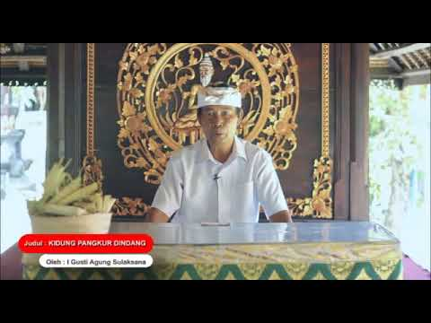 Kidung Pangkur Dingdang - Kumpulan Kidung Dewa Yadnya Pura Puseh Desa Adat Denpasar