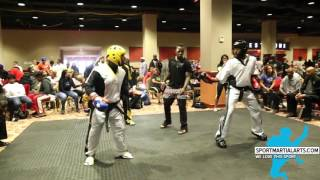 Unknown v Kameren Dawson - Hw Sparring - 2015 Twin Towers Classic