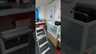 중고가구매입 skt핸드폰 매장 폐업 정리 유리 진열장 …