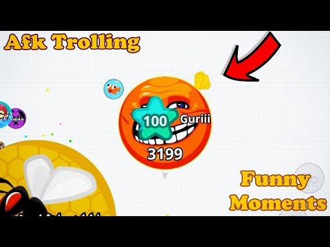 *AFK TROLLING* // FUNNY MOMENTS + Q&A ( Agar.io Mobile ) thumbnail
