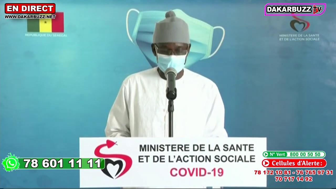 Coronavirus: Le Sénégal enregistre 172 nouveaux cas ce vendredi 7 août