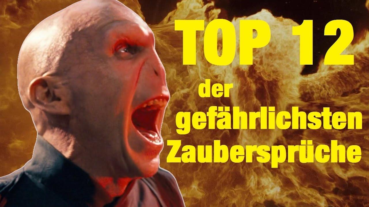 TOP 12 der GEFÄHRLICHSTEN ZAUBERSPRÜCHE aus Harry Potter   YouTube