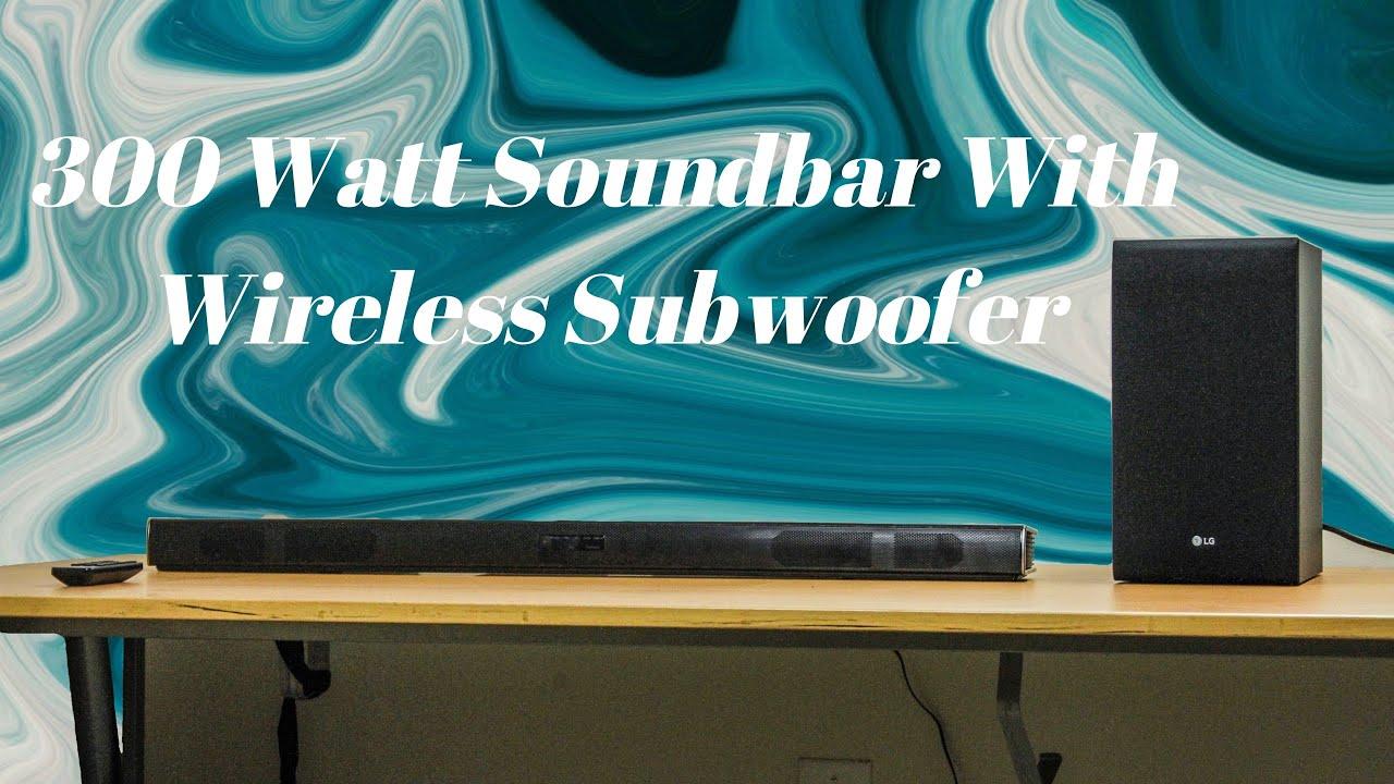 LG SJ4Y Soundbar With Wireless Subwoofer Review