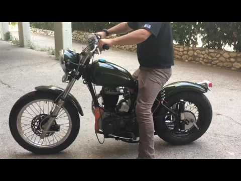 Modified BSA M21, 1960