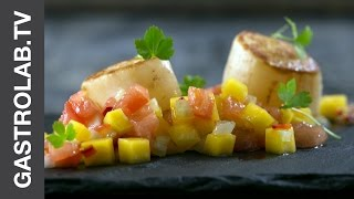 Scallops With Mango Salsa || Quick And Easy Recipes || Gastro Lab