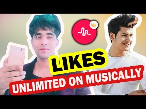 HOW TO GET MORE MUSICAL.LY LIKES TUTORIAL IN HINDI | UNLIMITED LIKES ON MUSICAL.LY 100% REAL LIKES