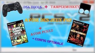INSTALLER PCSX2+CONFIG+OU TÉLÉCHARGER LES JEUX PS2+TAMPERMONKEY+BRANCHER SA MANETTE SUR PC (ps4)