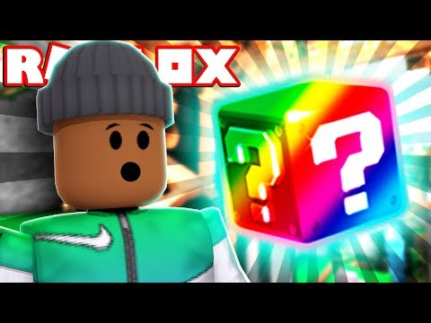 OPENING THE NEW RAINBOW BLOCK!! | Roblox Lucky Blocks