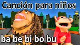 Canción ba be bi bo bu - El Mono Sílabo - Videos Infantiles - Educación para Niños #