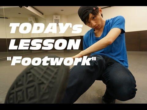 【ブレイクダンス】フットワーク6歩/Footwork 6step tutorial
