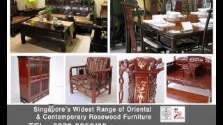 Oriental Chinese Classical Antique Rosewood Furniture From Oriental Handicraft