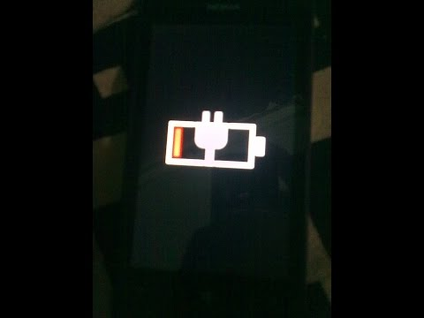 nokia lumia 520 not starting up shows only charging sign  (fixed issue)