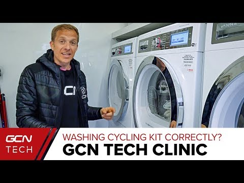 Best Way To Wash Cycling Kit Correctly? | GCN Tech Clinic