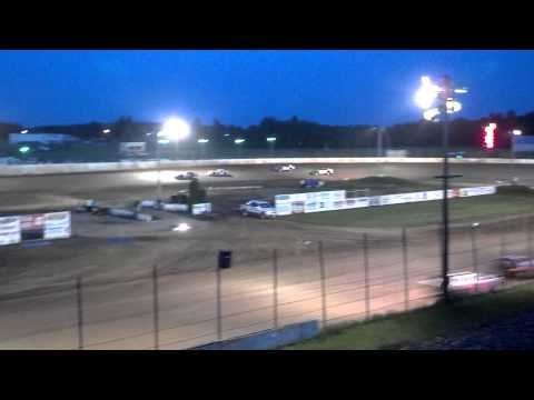 6-8-2013 Super Stock Feature Rice Lake Speedway