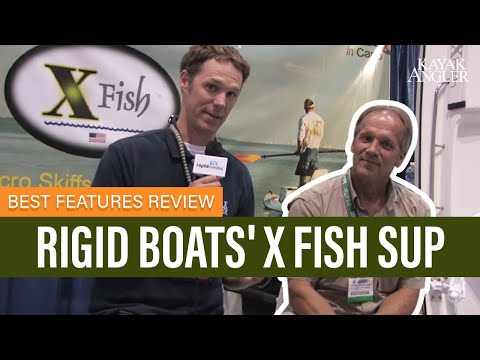 Rigid Boats' X Fish SUP | Fishing Paddleboard | Features Review & Walk Around