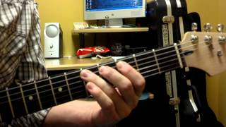 How to play Trouble No More by the Allman Brothers