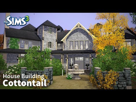 The Sims 3 House Building - Cottontail