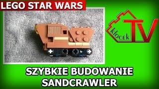 Szybkie budowanie: Lego Star Wars SW911725 Sandcrawler