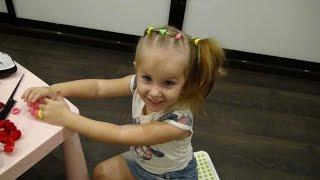 Классная прическа своими руками для 3-летней девочки / Прическа в сад и школу /Прическа на утренник