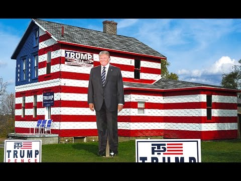 Trump House 2016 Great America PAC Bus Tour