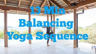 13 Minute Balancing Yoga Practice
