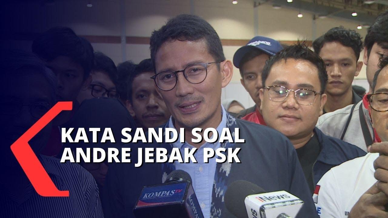 Andre Rosiade Jebak PSK, Sandiaga Uno: Fungsi Utama Dia ...