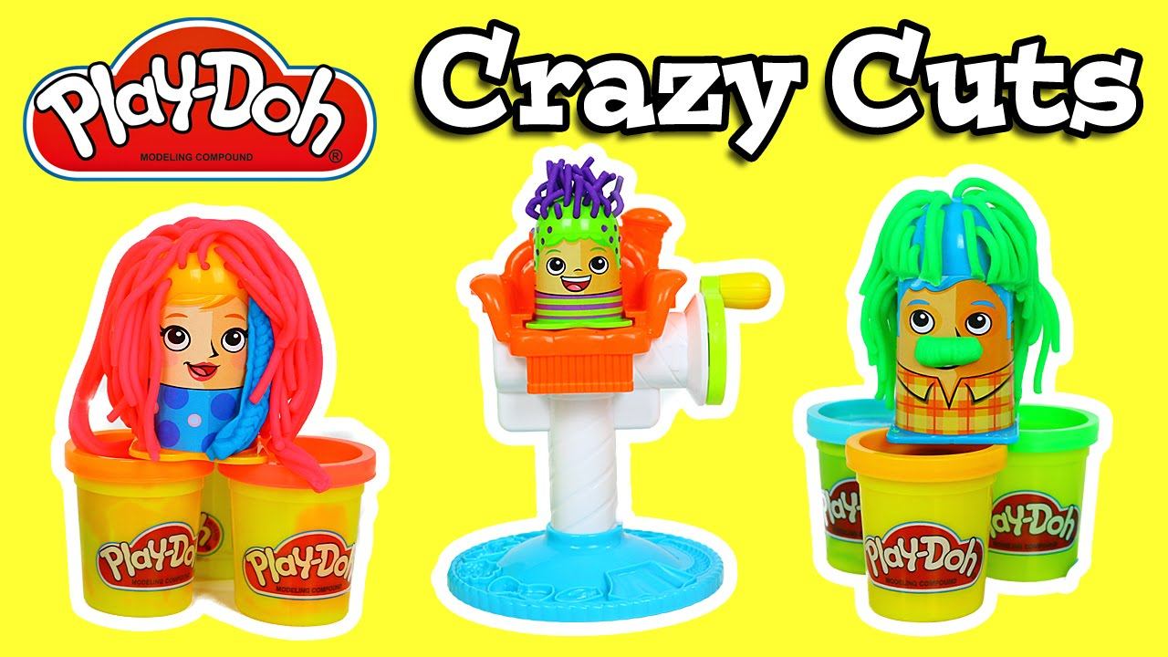 Play Doh Crazy Cuts Set