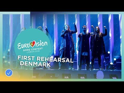 Rasmussen - Higher Ground - First Rehearsal - Denmark - Eurovision 2018