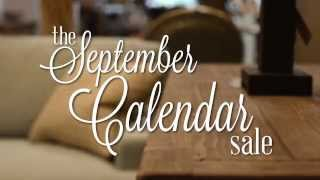 Lexington Furniture's Annual September Calendar Sale