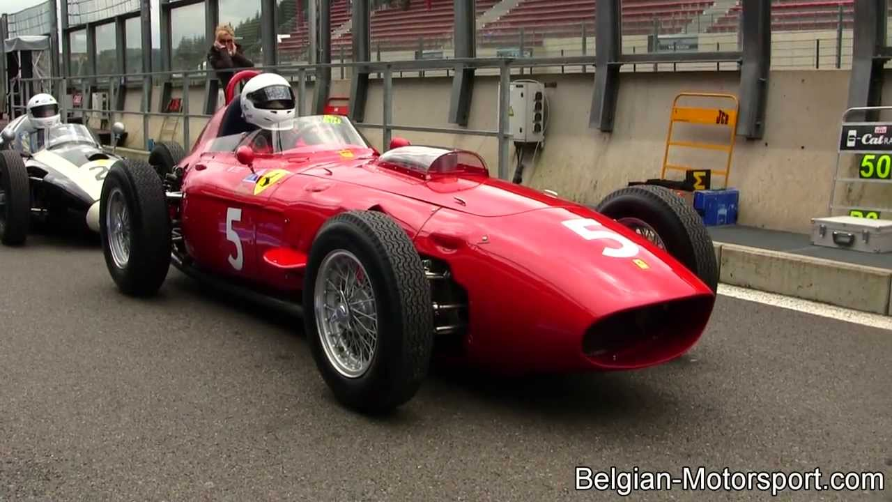 1958 Ferrari 246 Dino F1 At Spa 2013 Incl Idle Amp Revving